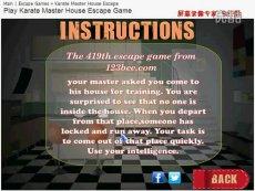 419th  Karate Master House Escape-密室逃脱 热门花絮