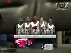 三星WCG2013中国区总决赛 NBA2KOL 个人赛决赛 张铭元 vs 周玉石