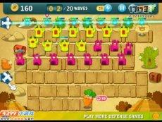 保卫萝卜沙漠模式第9关 小游戏视频攻略