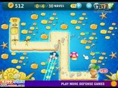保卫萝卜沙漠模式第15关 小游戏视频攻略