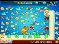 保卫萝卜沙漠模式第23关 小游戏视频攻略