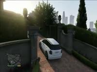 视频片段 老皮游戏娱乐解说『GTA5 侠盗猎车手5』家和萬事興(46)-解说