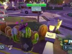 《植物大战僵尸:花园战争》最新合作模式演示