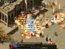 《龙界争霸》攻沙战实录视频