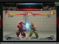 《终极街霸4》世界联赛 小孩(杀意隆)VS 毛毛奇(肯