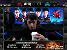 英雄联盟AHQ VS C9 2015世界总决赛小组赛