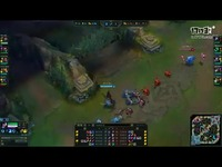 Jin Air Pilot - Lucian(with Sweet Bard) vs T