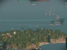 海上的钢铁泰坦:新游尝鲜坊《战舰世界》试玩