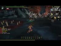 《怪物猎人OL》剑极狼挑战游戏画面