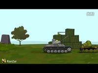 精彩内容 【RanZar坦克世界动画】2016/4/28期 Tricky Defence-动漫