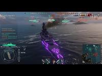 焦点 战舰世界小安解说:第30期 大傻与dalao的欢乐时光-战舰