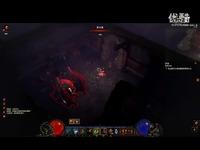 经典视频 暗黑破坏神3 巫医娱乐技变神技!小鸡快跑速刷-暗黑破坏神3