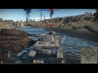 战争雷霆德系四号坦克初期型E/F1/C游戏演示
