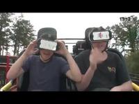 真实+VR的过山车体验