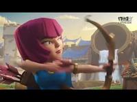 皇室战争官方宣传动画:一箭绝杀!