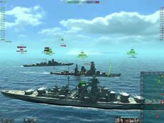 在线观看 海战世界-俾斯麦-两场-不管不顾抢人头-三连杀-Lion老虎解说-视频