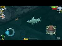 饥饿鲨进化第4期 ★吃掉3个人完成任务★奇怪君-视频 看点