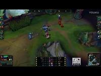 LOL:最强王者的对抗,韩服第一上单诺手一开鬼步就是一个人头英雄联盟LOLiu0-原创 经典视频