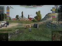 经典 坦克世界:416 傻杀一条线!-娱乐
