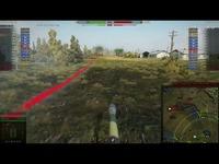 坦克世界 游戏视频 德国德系10级 E100 坦克歼击车 大白兔百突 自行反坦克炮 火力支援 地图