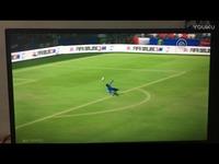 热门片段 FIFA OL3守门员直接大脚攻门-原创