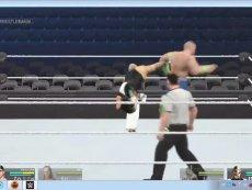 WWE2K15自导剧情(714)  新世界双打冠军-视频 精华