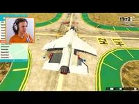 [GTA5]用载有1000人的飞机去撞大楼!