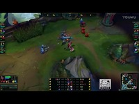 LOL:最强王者的对抗,韩服第一上单诺手一开鬼步就是一个人头英雄联盟LOL 精彩视频