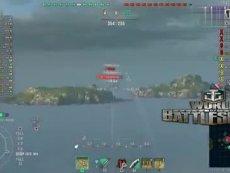 【战舰世界欧战天空】属于米诺陶斯与海王星的点位攻防.mp4 精彩片段