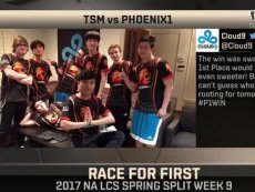 2017LCS北美春季赛第9周 TSM vs P1 第1场-歪玩