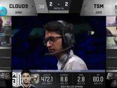 C9 vs TSM 第五场【2017LCS北美春季赛决赛】歪玩