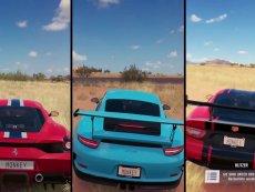 超跑大战 - 极限竞速 地平线3 - 458 Speciale | 911 GT3 RS | Viper ACR 最新