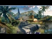 止战之伤:解说最后一炮:豹1A6-冲锋陷阵我不狂