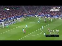 18赛季西甲联赛第8轮集锦马德里竞技VS巴塞罗那