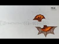 【马克笔+彩铅+铅笔】魔兽世界武器-双刃屠斧