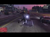 GTA V Thanos script mod - Meteor throw