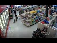 恶搞加拿大笨贼盗窃商店(合金装备BGM+片段)