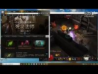 暗黑三北京玩家用死灵法师拉斯玛效率高层185层
