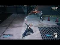 《最终幻想7:重制版》战斗演示